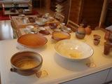 ダイニングの陶器