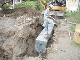 蒸発散装置設置作業