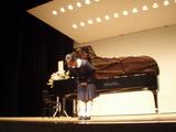 ピアノの発表会でした