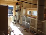 キッチンユニットの組立