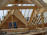 入組んだ屋根部分
