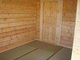 和室(窓側からドアを見る)