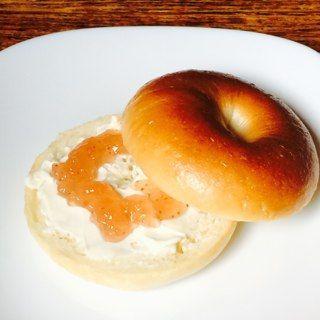 ベーグルサンド クリームチーズ&いちじくジャム