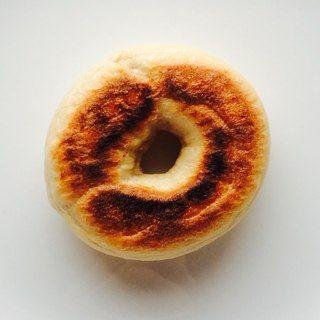 ヨーグルト酵母 ベーグル