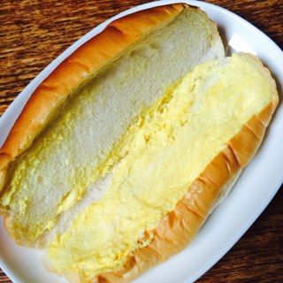 バナナクリームサンド/頓所製パン