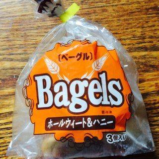 冷凍ベーグル・ホールウィート&ハニー/ニッケンフーズ