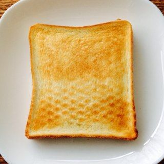 トースト 強 2.5分 裏