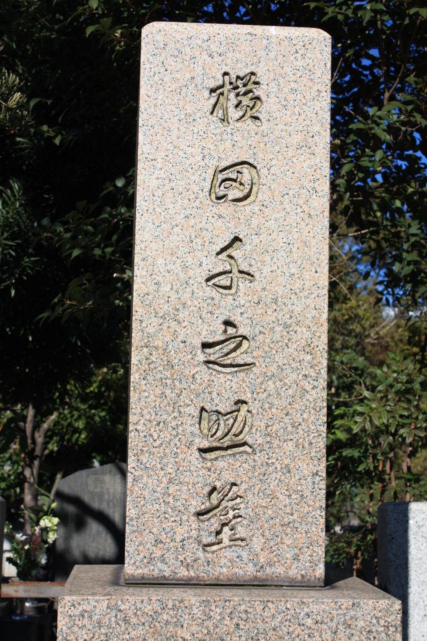 2212 横田千之助墓(港区南青山2-32-2・青山霊園) : 本牧Jack『意外と ...