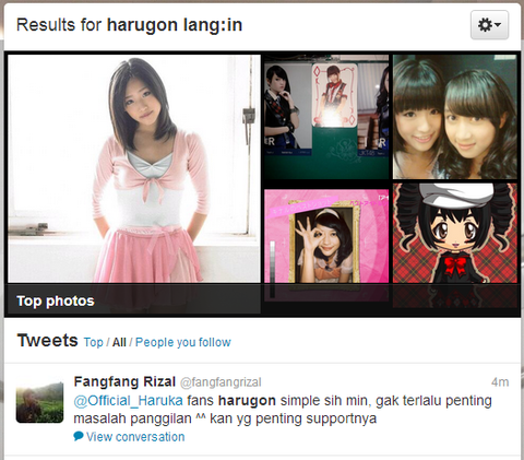 Twitter   Search   harugon lang in
