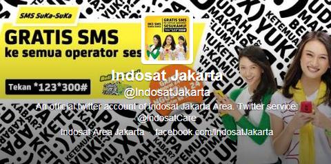 Indosat Jakarta  IndosatJakarta  on Twitter