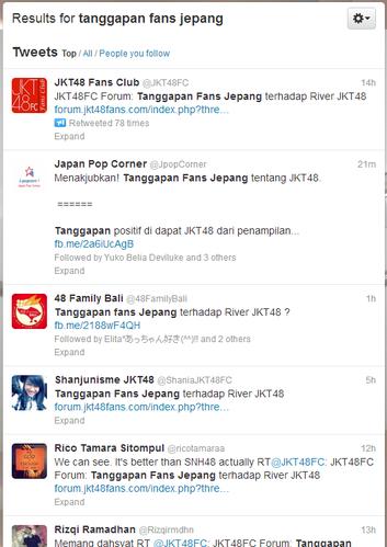 Twitter   Search   tanggapan fans jepang