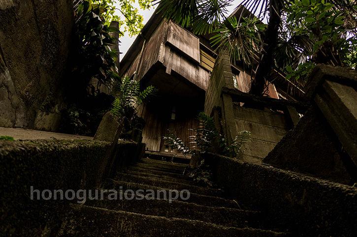 石階段 正面