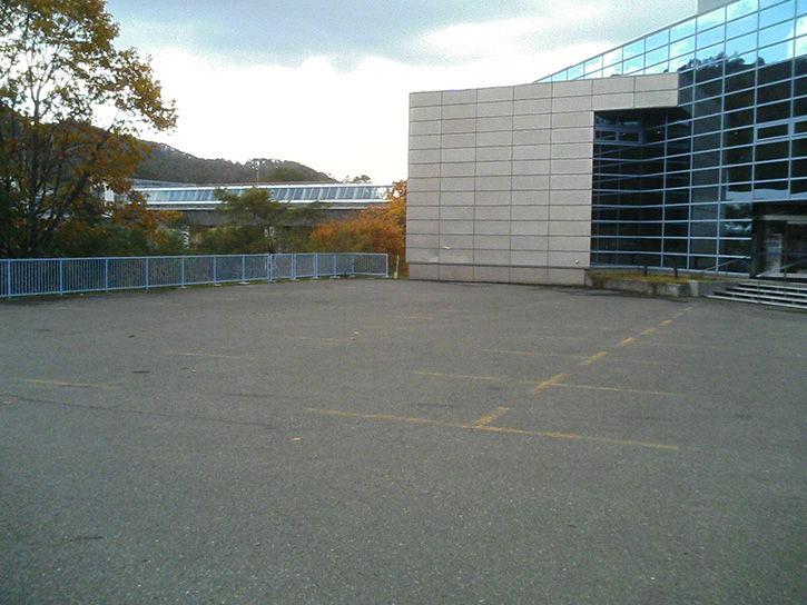 夕張 駐車場
