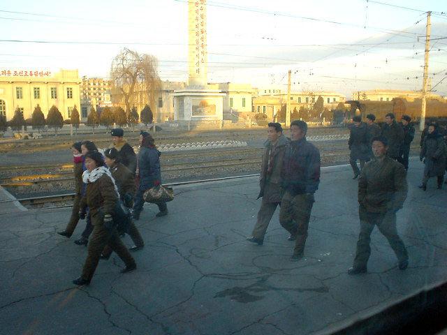 北朝鮮観光 乗客