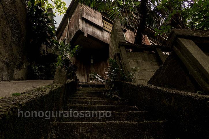 石階段 正面2