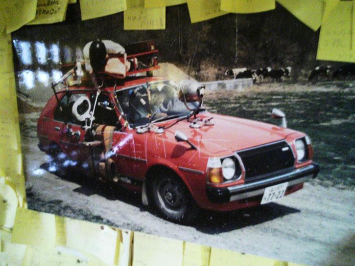 幸福の黄色いハンカチ ファミリア 撮影車両