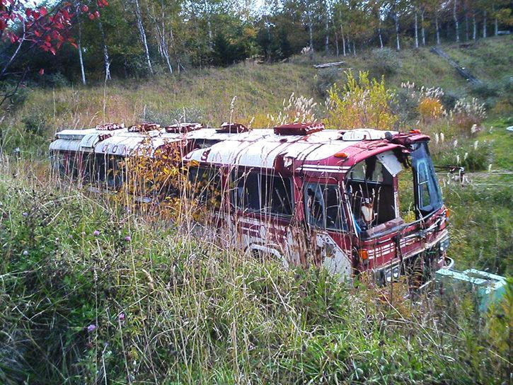 有珠山噴火遺構 バス