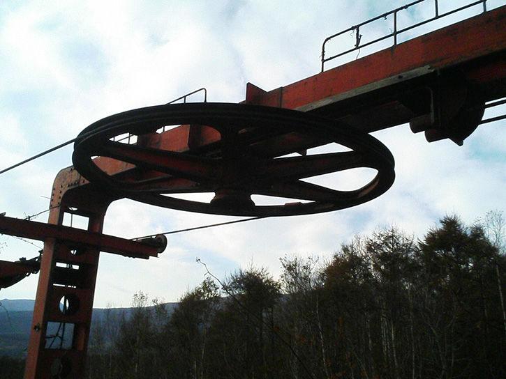 チニカ山荘 滑車