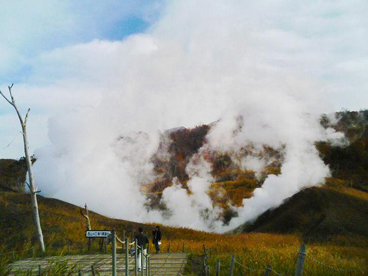 噴火遺構 カップル