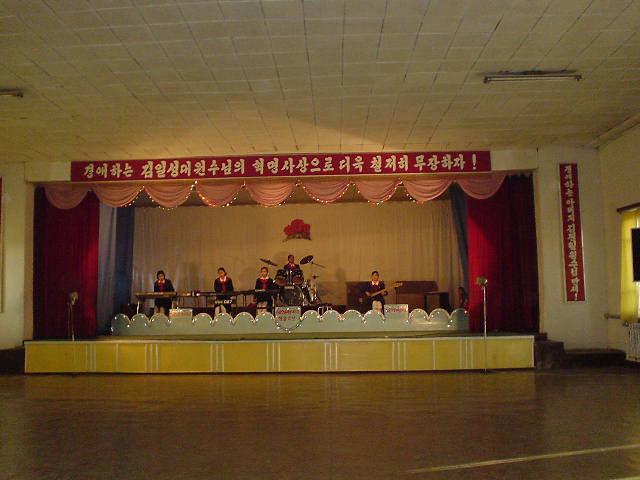 平壌 舞台