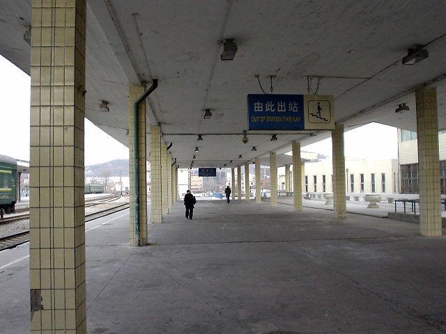 北朝鮮観光 ホームの先