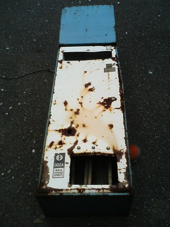 ホテルニュージャパン 自動販売機