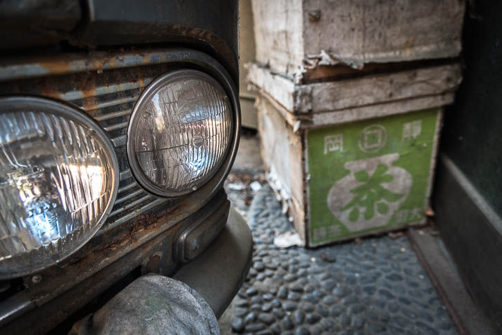 廃ガソリンスタンド-422