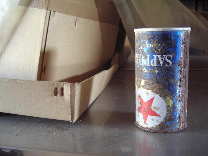 第一滝本館 ビール缶