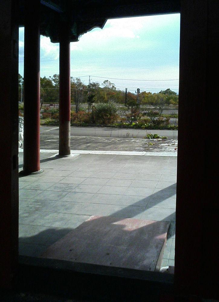 天華園 塔の出口