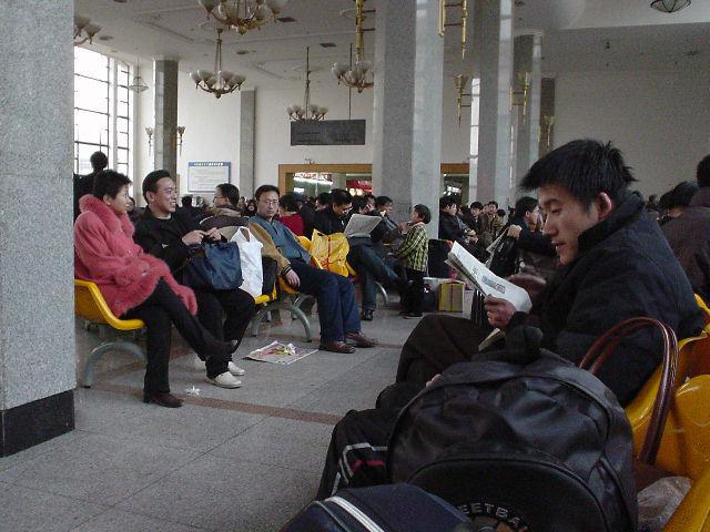 北朝鮮観光 寝癖2