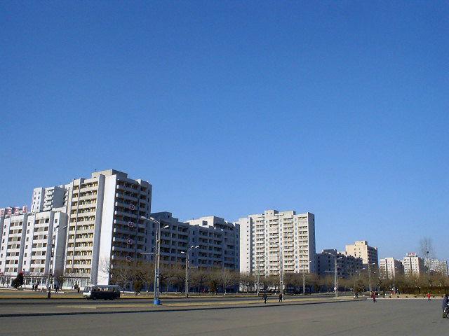 北朝鮮観光 建物