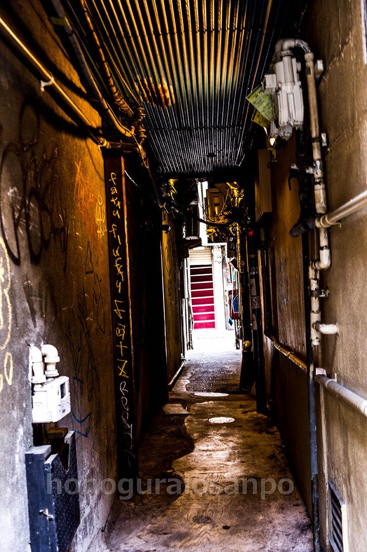 ゴールデン街-狭隘1