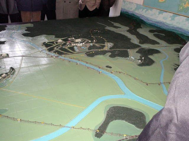 北朝鮮観光 模型2