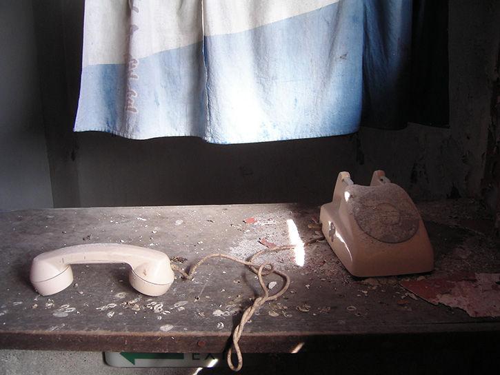 第一滝本館 受話器