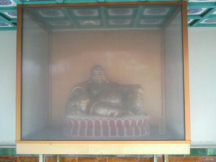 天華園 大幅弥勒仏