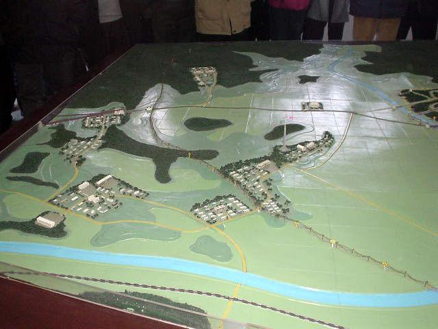 平壌観光 模型