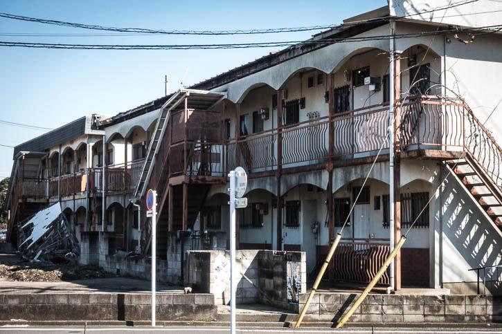 廃墟アパートRX