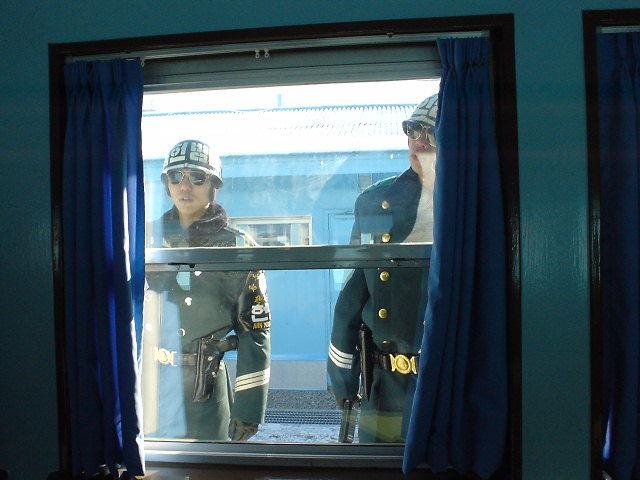 板門店 韓国軍