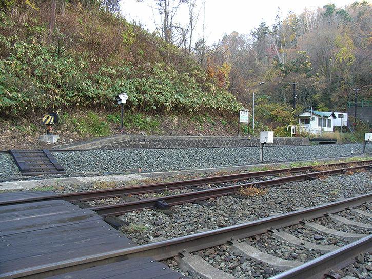 小幌駅 山側