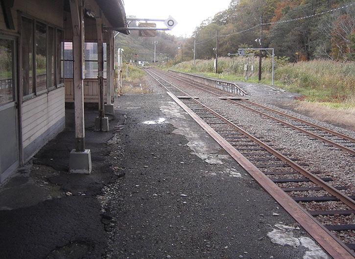 峠下駅 反対側
