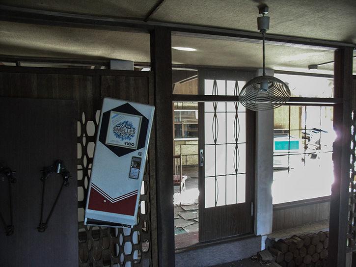 白鳥湖ホテル 自販機