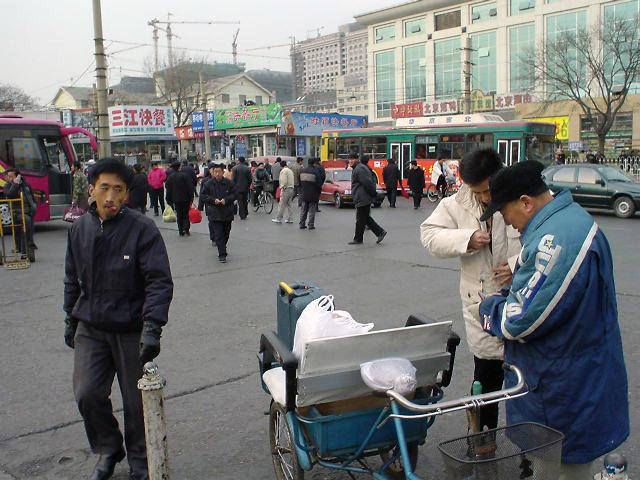 北朝鮮旅行 万頭