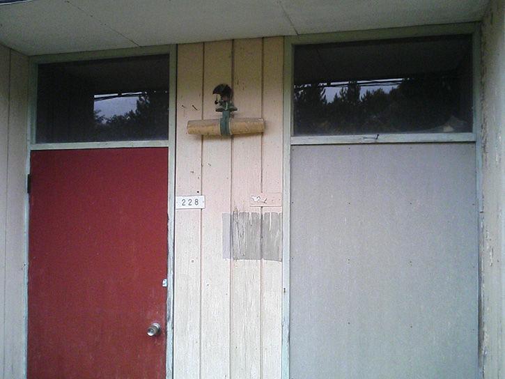 ドアふたつ
