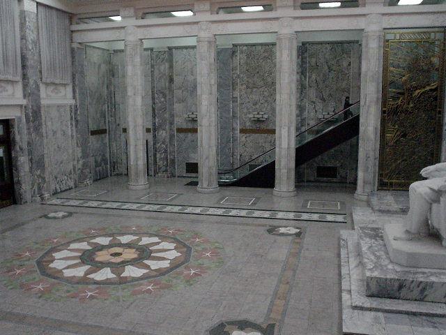 北朝鮮観光 館内