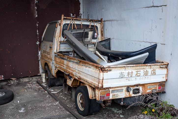 廃ガソリンスタンド-548