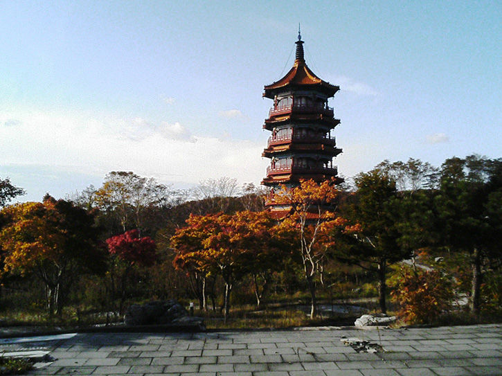 天華園 塔