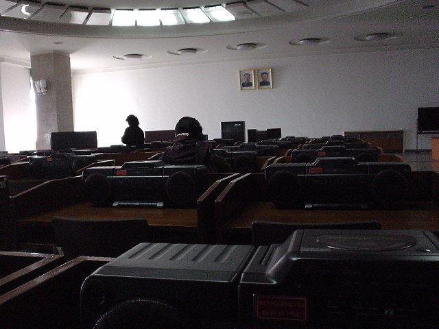 北朝鮮観光 図書館
