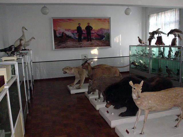 北朝鮮観光 理科室