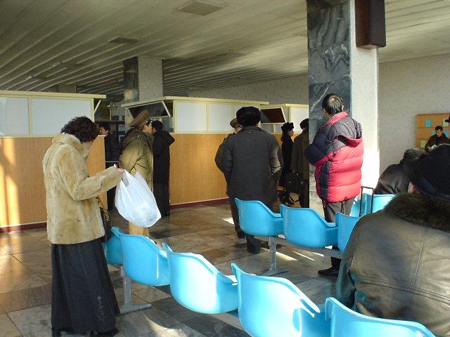 北朝鮮観光 搭乗口