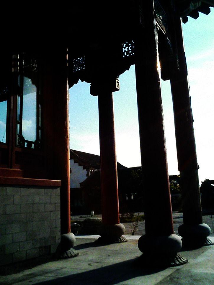 天華園 柱